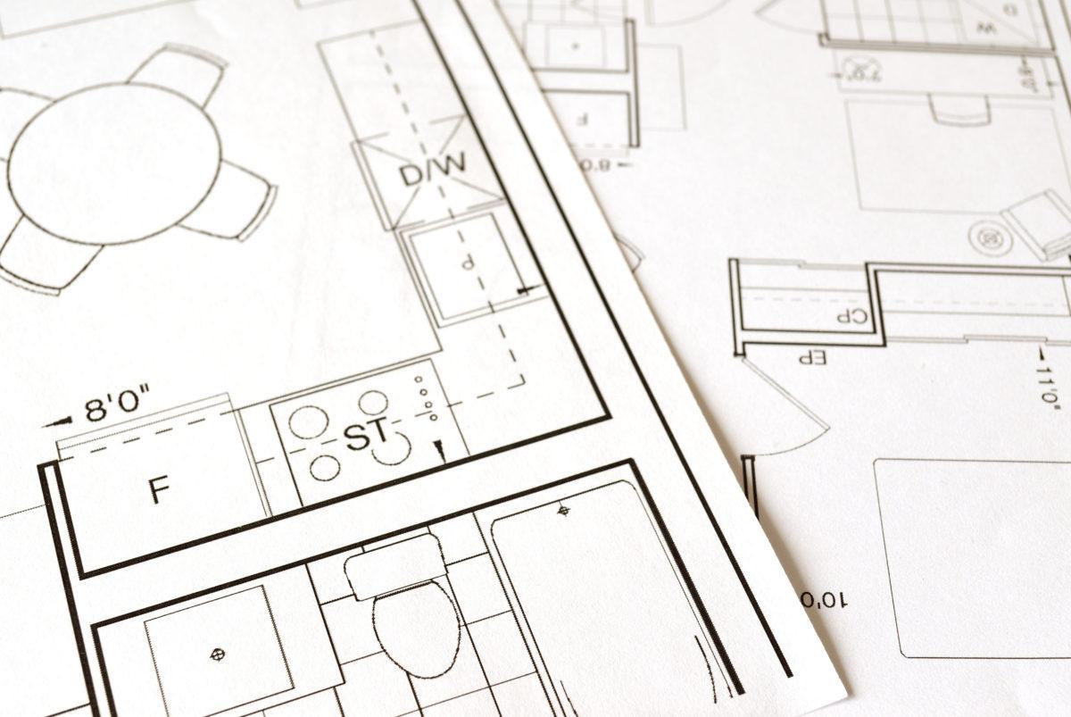 scenographie interieure plan2D travaux modificatifs